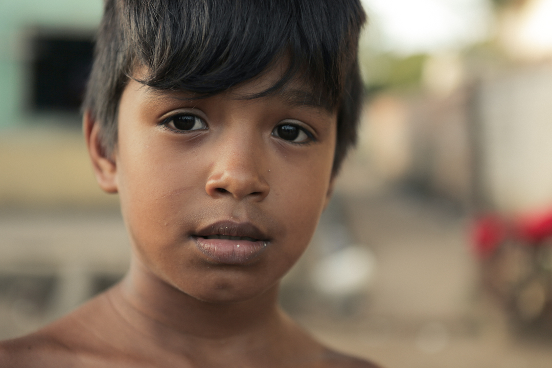 Student in the Amazon