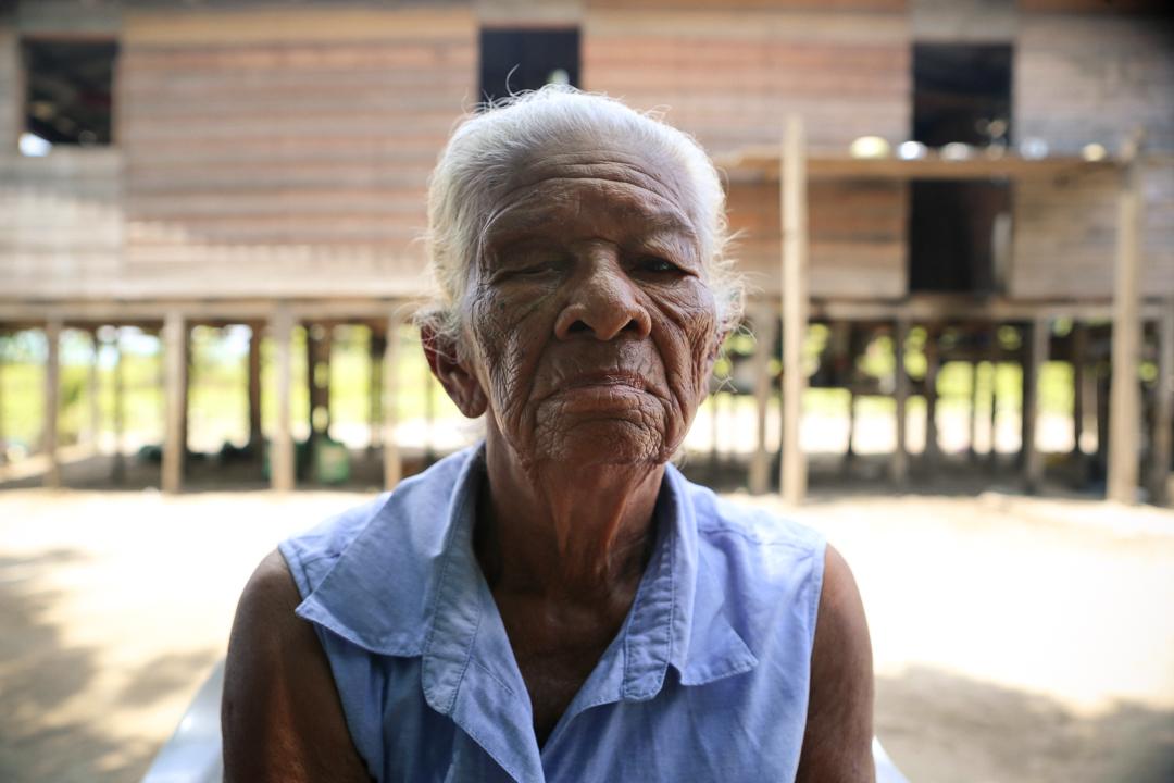 Elderly Amazonian