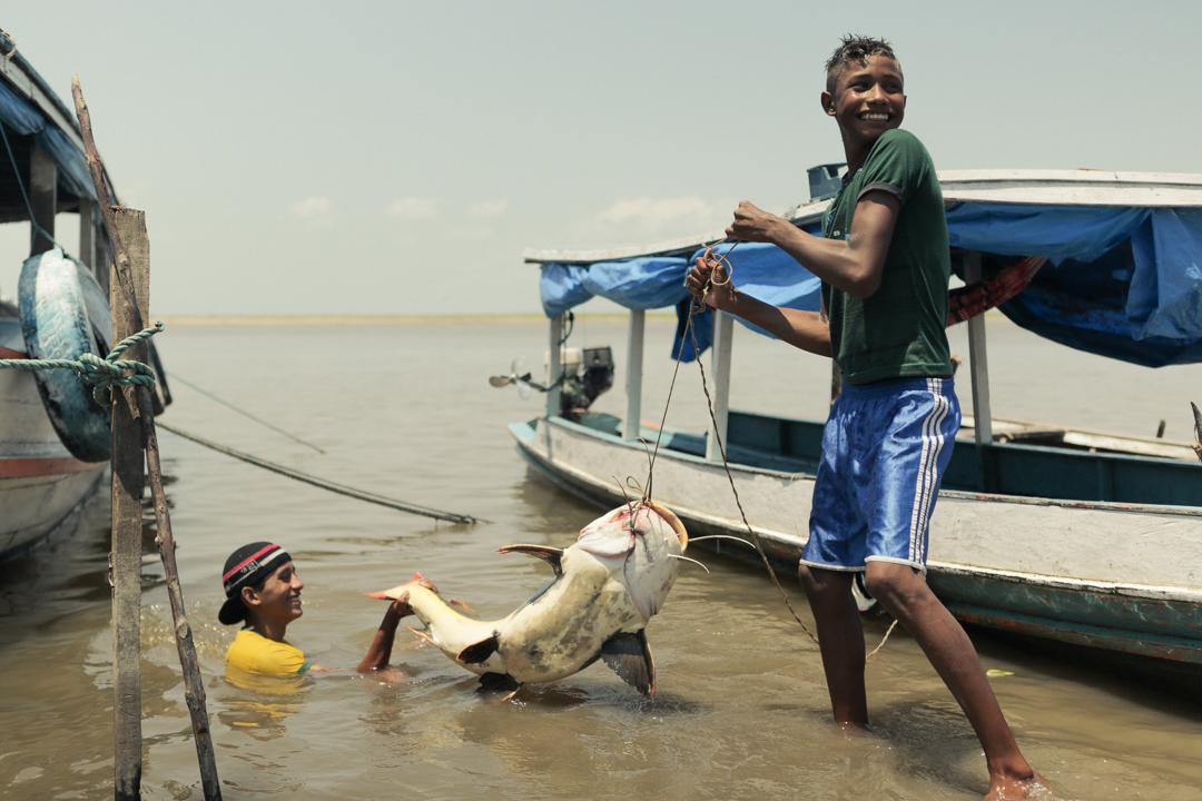 Fishing the Amazon