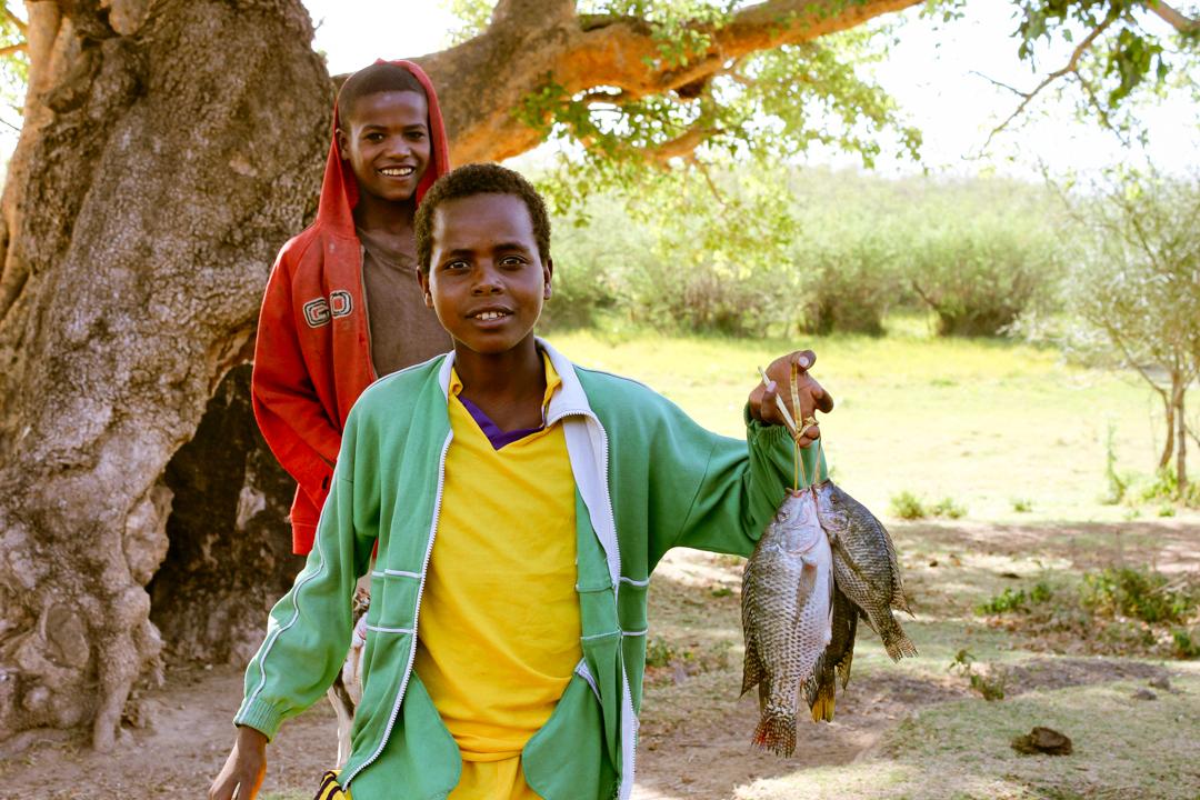 Ethiopian fishing